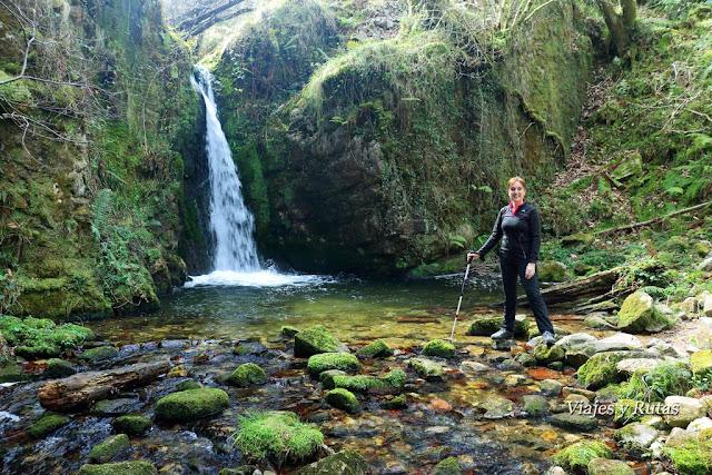 Cascada del Chorrón, Piloña, Asturias