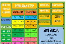 Aplikasi Penilaian KTSP 14 Mapel Format Excel.xls