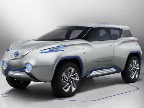 Tinuku.com Nissan TeRRA electric SUV the luxury eco-friendly more concrete in the Guangzhou Auto Show 2016