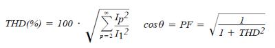 relationships between power factor and harmonic distortion