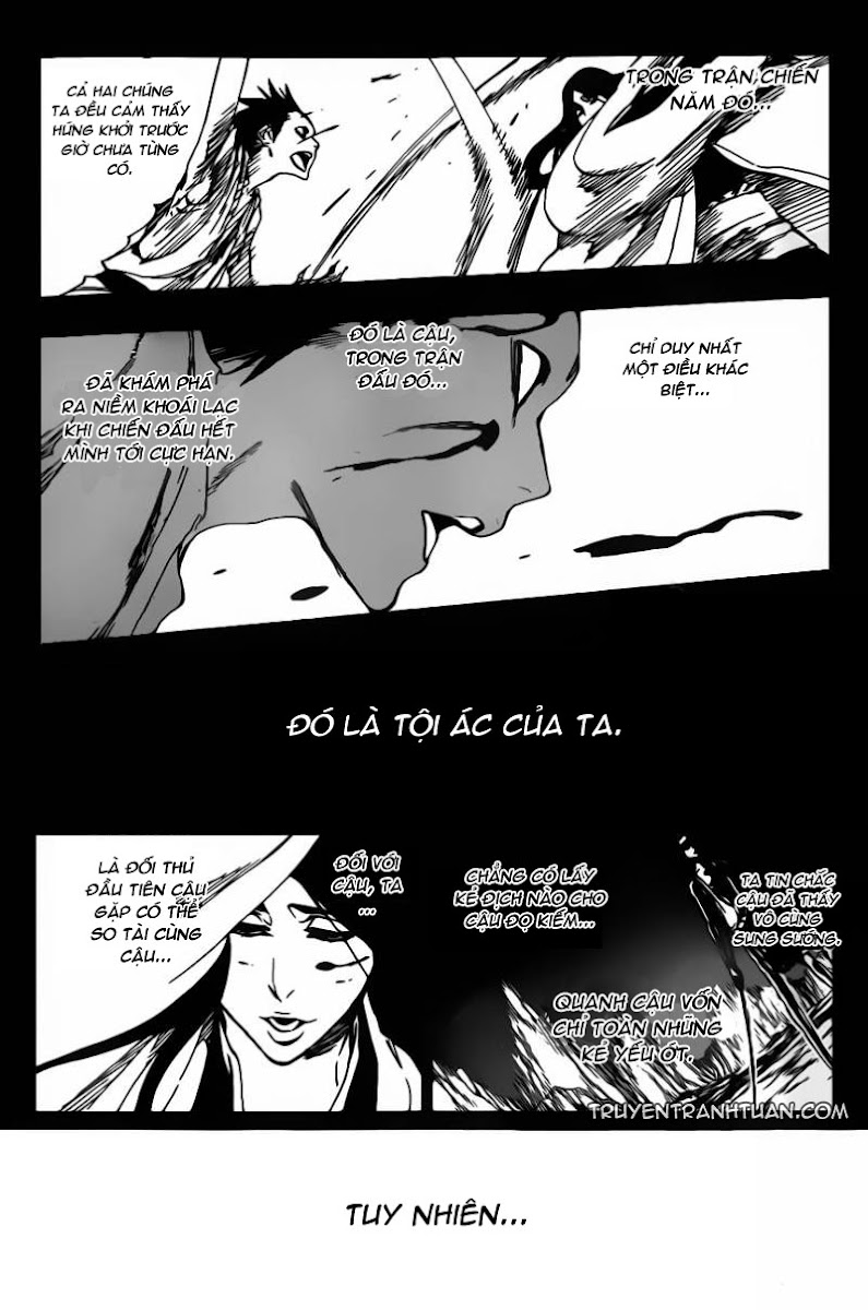 Bleach chapter 525 trang 14