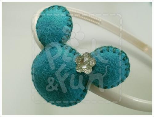 Tiara - Arquinho em Feltro  - Felt Headband