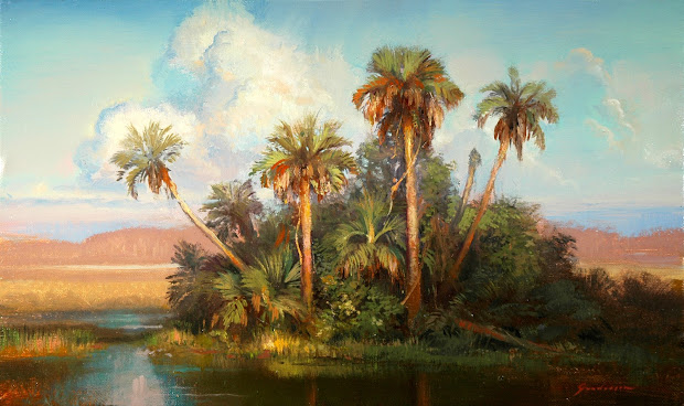 Classic Realism Florida Oil Paintings