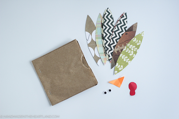 How to make a turkey thankful book