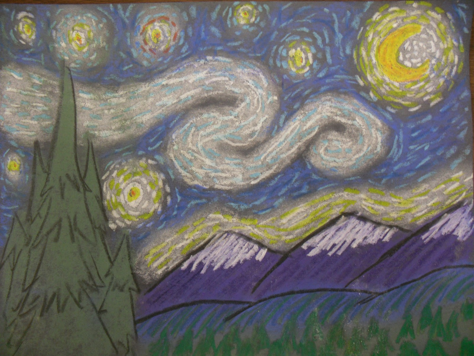 final essay on starry night correction Essay on vincent van gogh essay on  two van gogh represents the painter's final year before  khan academy is finally getting information about starry night by .