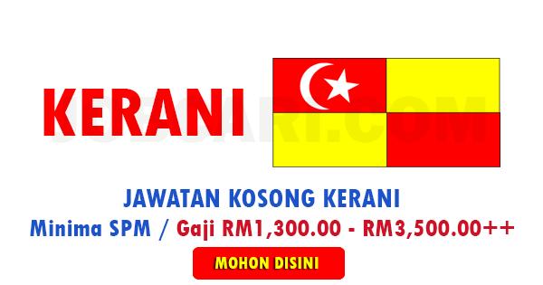Jawatan Kosong Kerani di Negeri Selangor