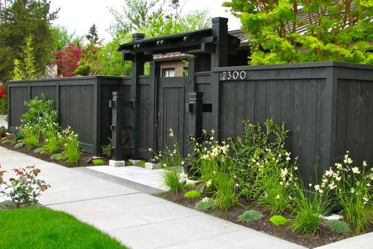Back Garden Fencing Idea The Interior Design Inspiration