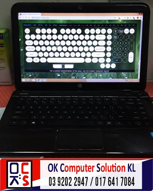 [SOLVED] HP G4-2207TX GRAPHIC PROBLEM | REPAIR LAPTOP AMPANG 4