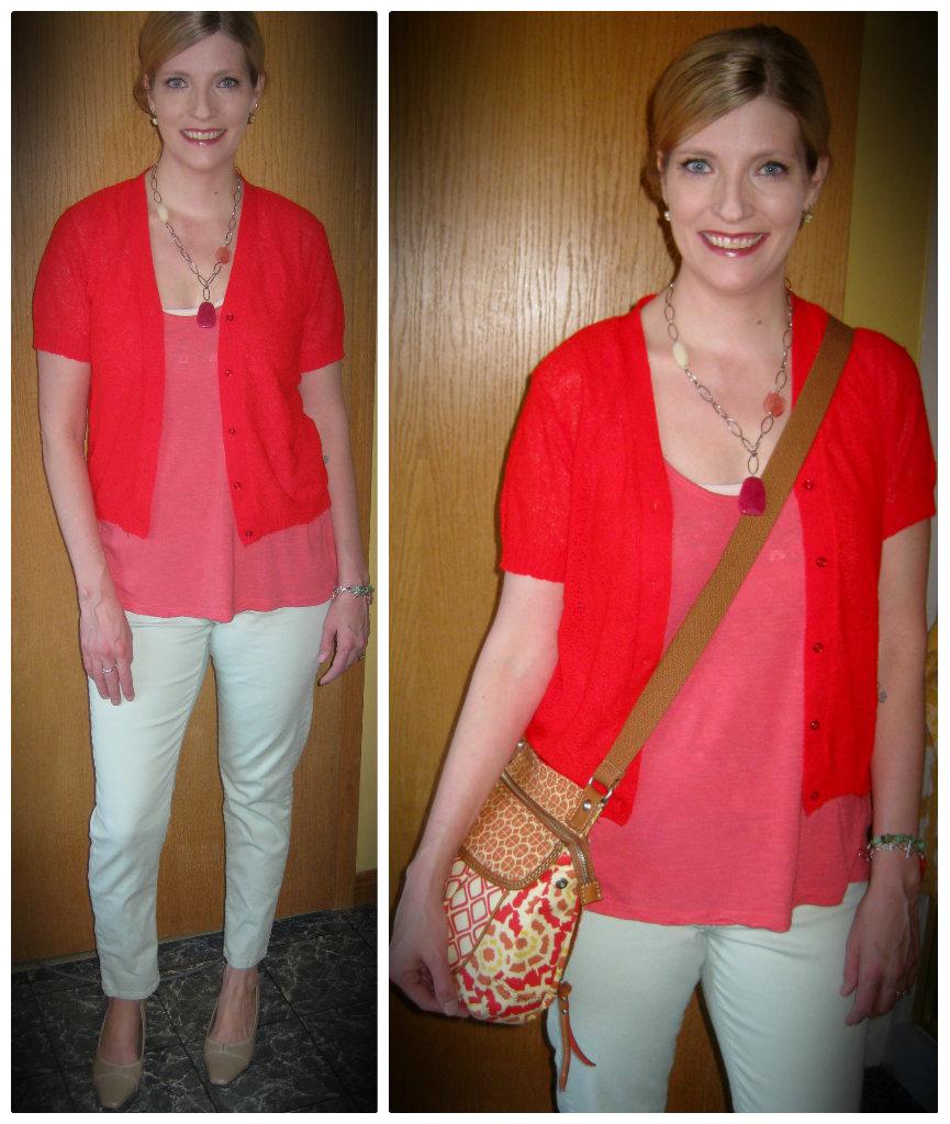 VV Boutique Style: Pantone Challenge - Poppy Friday