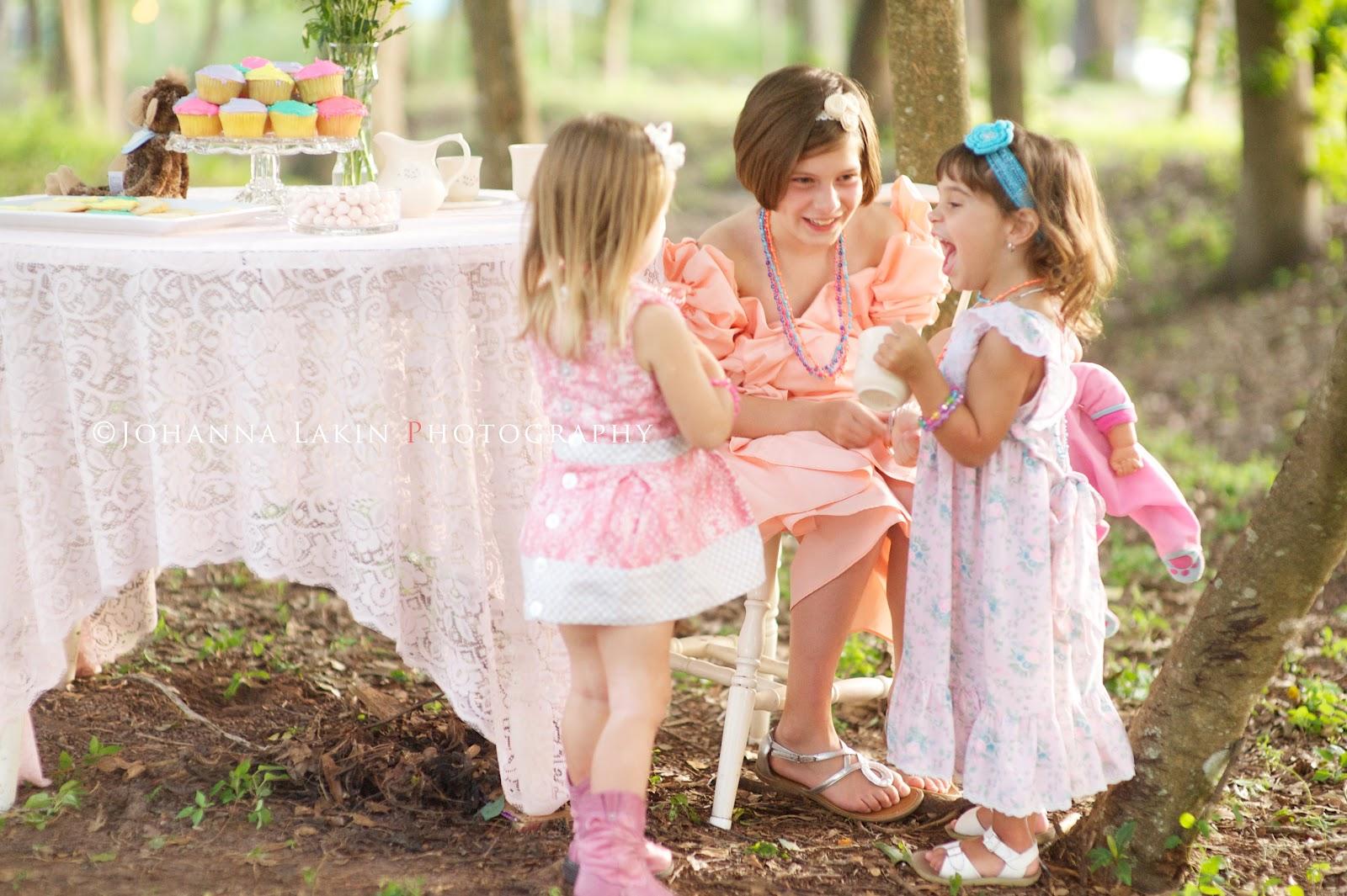 Little Girl S Tea Party Sessions Thomasville Ga