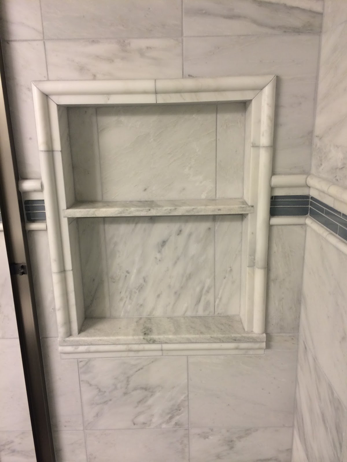 Custom Bathroom Remodeling Carrara Marble Bathroom New
