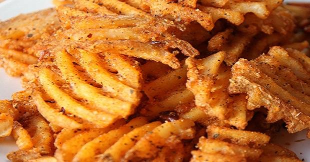 Blackened Cajun Waffle Cut Russet Fries Recipe