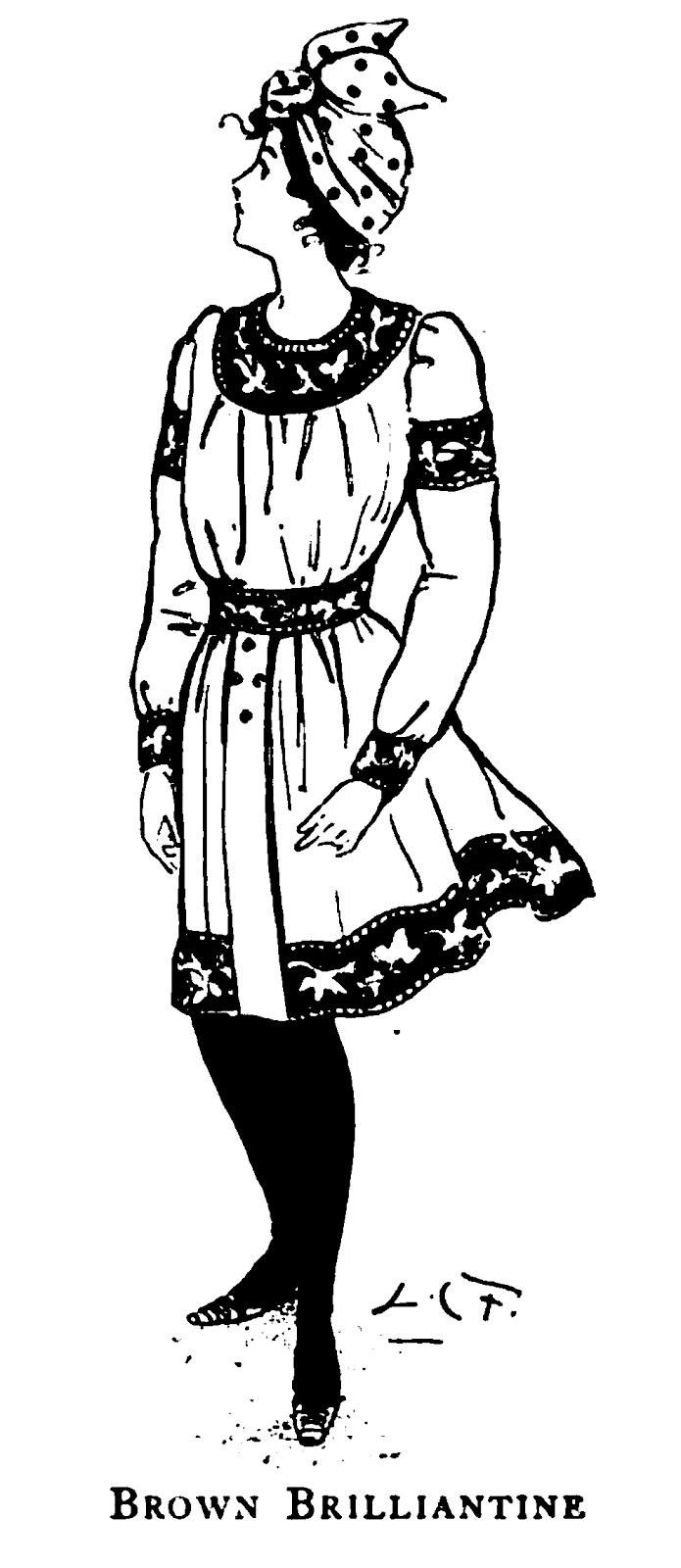 19th Century Historical Tidbits: 1899 Fashions