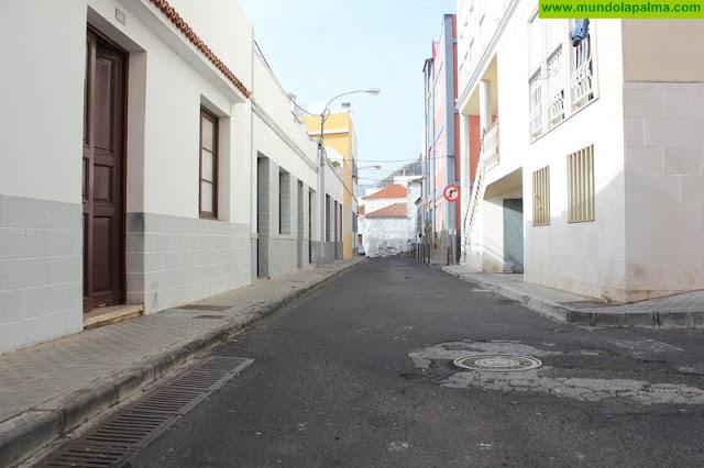 El Ayuntamiento de Santa Cruz de La Palma reorganiza el tráfico en las calles Garome y Huertas por las obras de reasfaltado