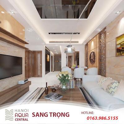 Đơn vị thiết kế nội thất RSP - Tấm vé vàng bảo đảm chất lượng cho Hanoi Aqua Central