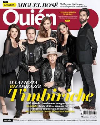 Revista Quién México 12 Septiembre 2017