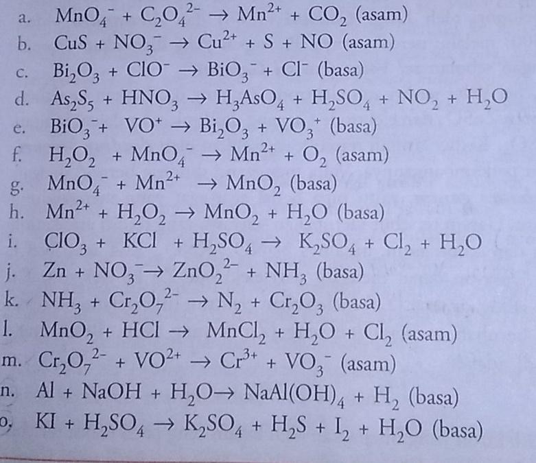 Pembahasan Kimia Erlangga Penyetaraan Redoks Dan Elektrokimia Latihan 2 1 Tips And Trik 5