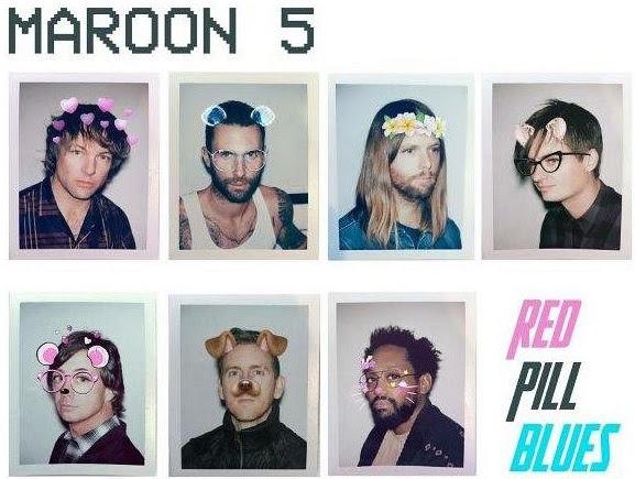 魔力紅(Maroon 5)2017最新專輯【紅藍藥丸】