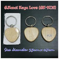 Gantungan Kunci Kayu GK-K05
