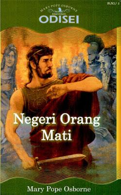 Hasil gambar untuk Novel Odisei (Negeri Orang Mati) – Mary Pope Osborne