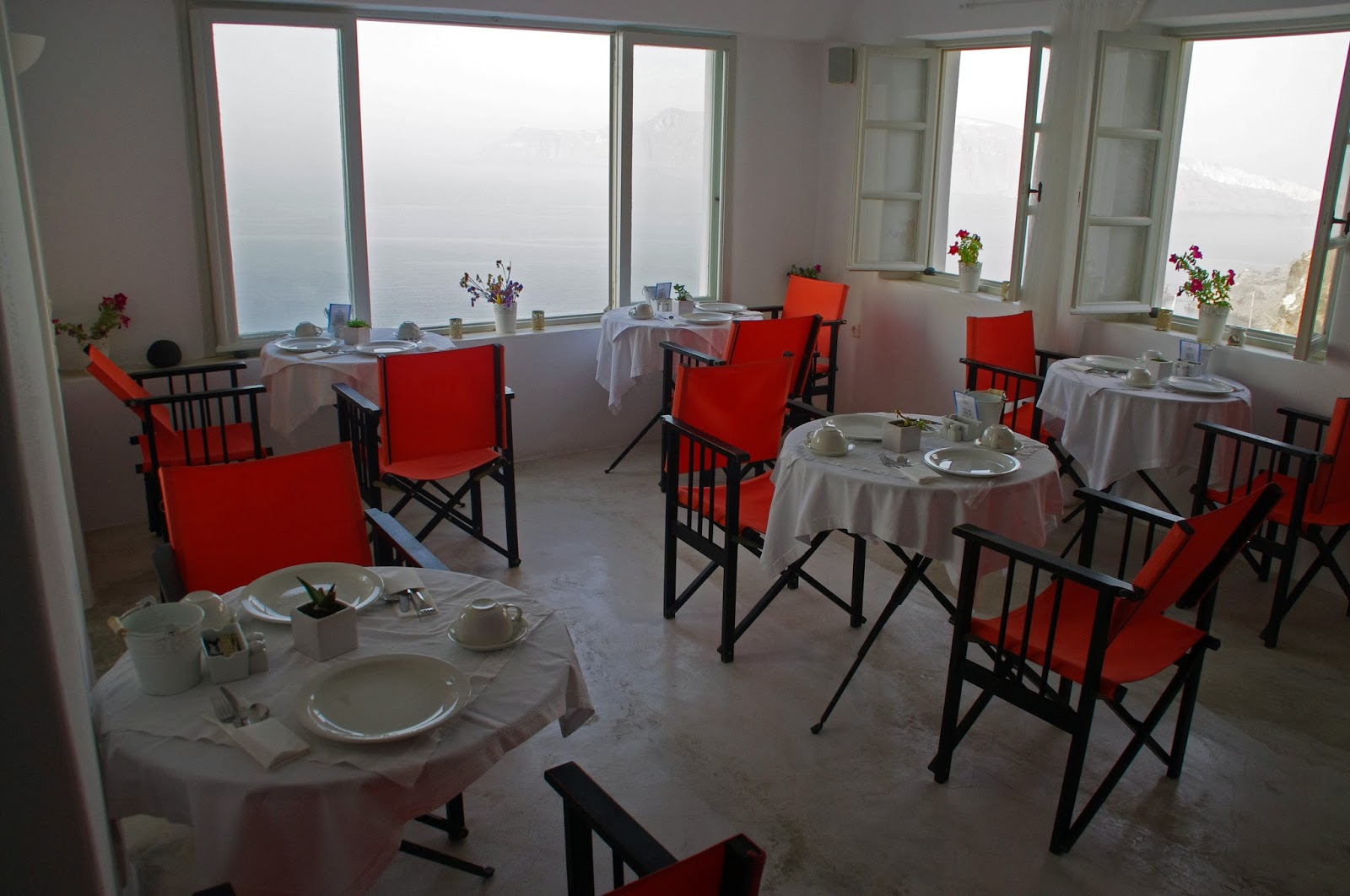 Breakfast Nostos Apartments Oia Santorini