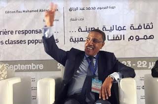 الميلودي المخارق الأمين العام للاتحاد المغربي للشغل: