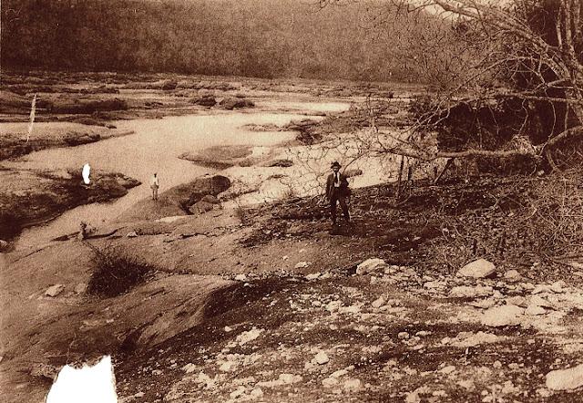 Paisagem às margens do rio Novo. 1912.