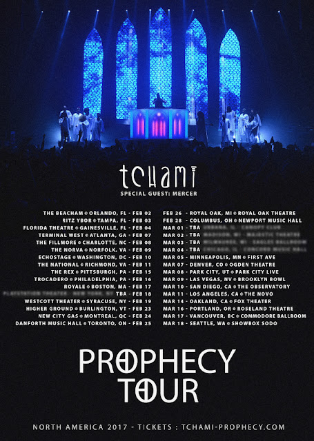 Tchami Announces Massive 32-Date 'Prophecy Tour'
