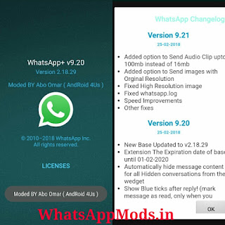 NOWhatsApp v9.21 WhatsAppMods.in