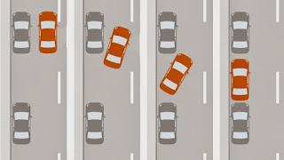 Parking en la margen izquierda