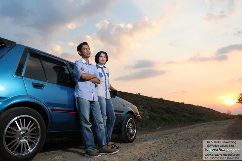 foto prewed sunset