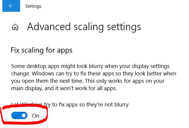 Cara Atasi Gambar Aplikasi Blur pada Windows 10