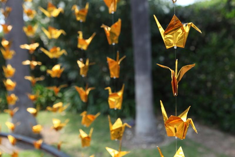 Japanese 1000 Paper Cranes