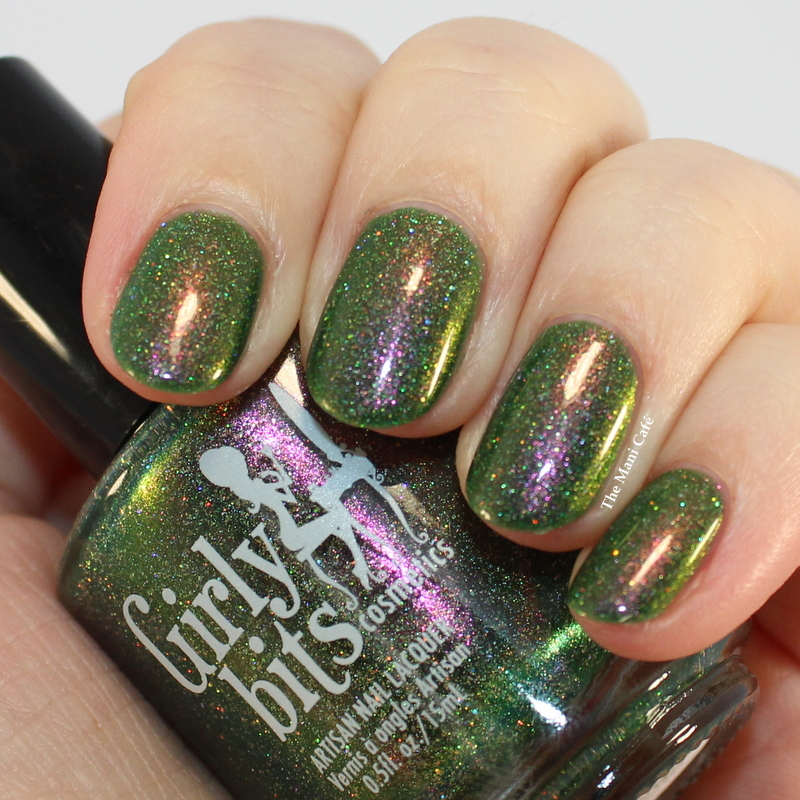 The Mani Café: Girly Bits December 2016 CoTM (Grandma Got Run Over ...