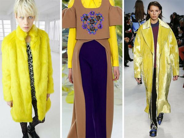 trend moda giallo