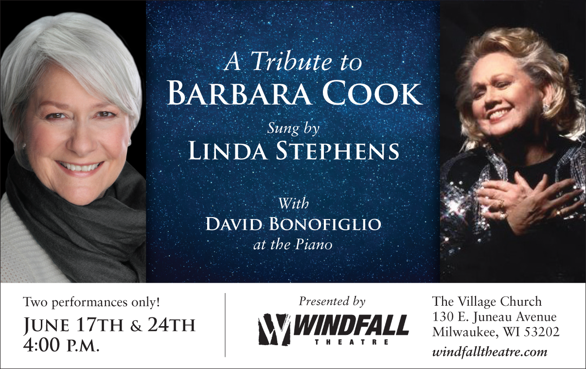 Windfall Theatre: A Tribute to Barbara Cook Sung by Linda Stephens