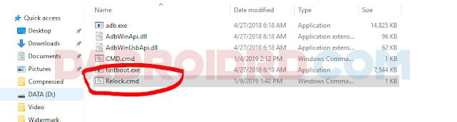 Cara Relock Bootloader Zenfone Max Pro M Cara Relock Bootloader Asus Zenfone Max Pro M2 (X01BD)