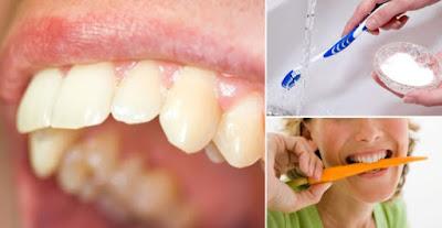 remèdes maison pour éliminer le tartre des dents