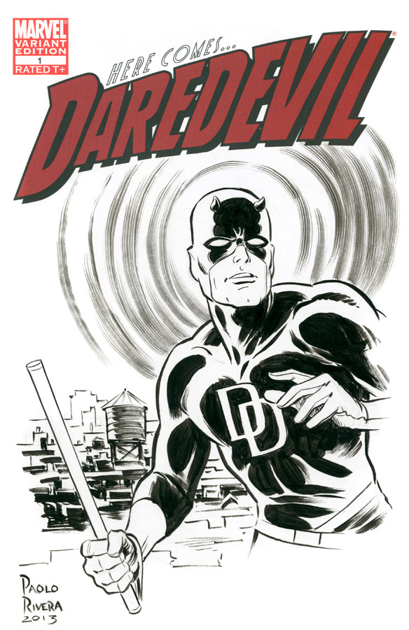paolo rivera daredevil cover - photo #13