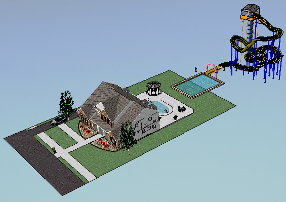 Bonnie's Blog: 3D design for K-12 and beyond: November 2011 on Sketchup Backyard id=89015