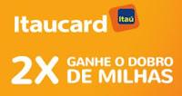 Milhas Smiles em dobro com Itaucard
