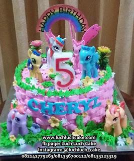 My Little Pony Birthday Cake Surabaya - Sidoarjo