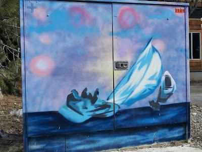 Sailing Street Art