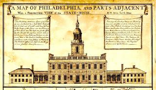 Fachada de la Pennsylvania State House.