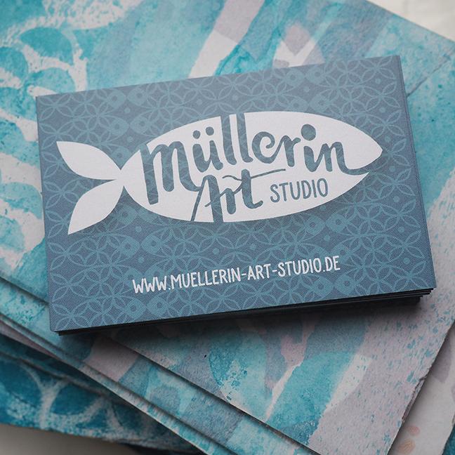 Muellerin-Art-Studio Visitenkarten ©muellerinart