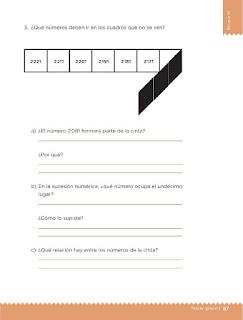Apoyo Primaria Desafíos matemáticos 3ro. Grado Bloque III Lección 37 Los juegos