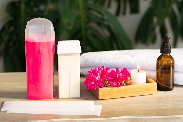 podgrzewacz do wosku, wosk w rolce, paski do depilacji