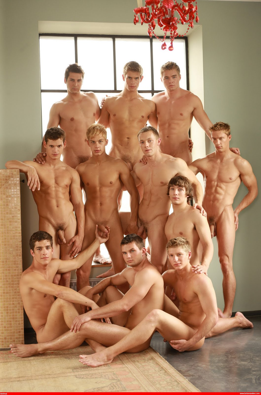 Group Of Naked Guys 111