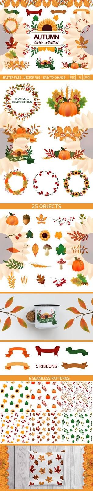 تحميل مجموعة فيكتور للخريف بجودة عالية