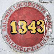 Baldwin locomotive roundel